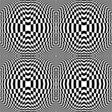Design monochrome checkered background