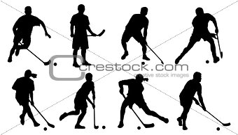 floorball silhouette