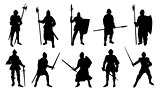 knight silhouettes