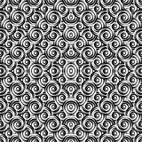 Design seamless monochrome circle pattern
