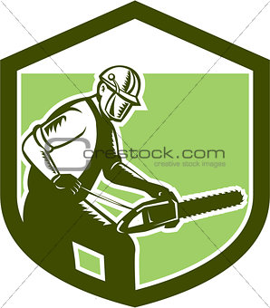 Arborist Tree Surgeon Lumberjack Chainsaw Woodcut
