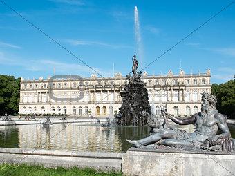 fountain at Herrenchiemsee