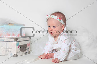Beautiful small girl