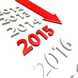 Arrow to year 2015