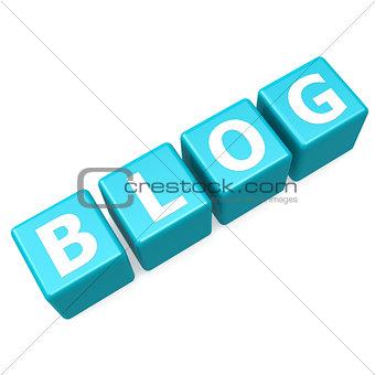Blog blue puzzle