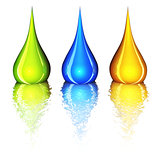 color drops