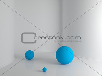 Abstract interior composition.
