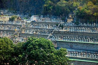 Cemetery in Hong Kong