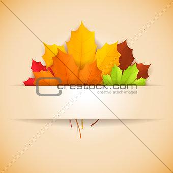 Autumn banner.
