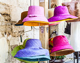 Colored hats