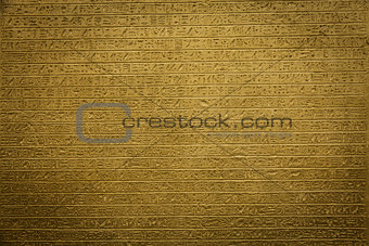 Hieroglyph background