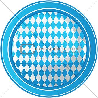Oktoberfest circle background