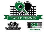 Table Tennis emblems and symbols