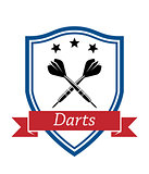 Darts sport icon
