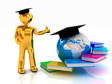 The world is opened for you. Global Education