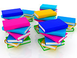 colorful real books