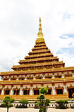 Temple in Thailand is named Phra-Mahathat-Kaen-Nakhon, Khon Kaen
