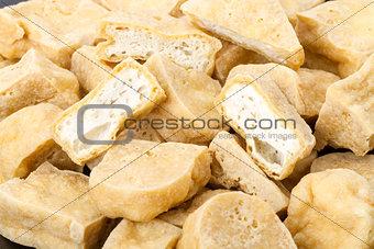 Tofu - deep fried