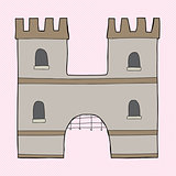 "Medieval Castle ""H"""