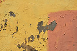 peeling wall abstract