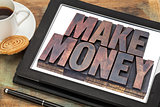 make money online concept