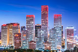 Beijing, China Financial District
