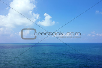 Background of calm sea
