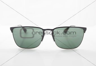 Classic sunglasses isolated on white background