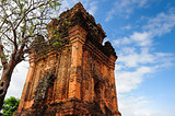 0005-PhuYen province, Nhan mountaint, Champa Tower