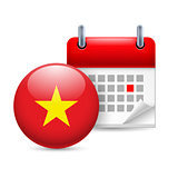 Icon of National Day in Vietnam