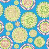 round geometric flower