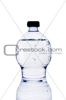 a bottle of water