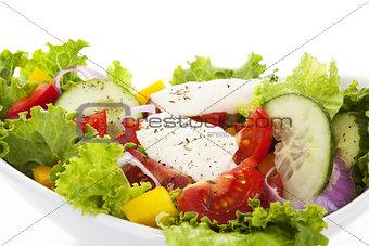 Fresh colorful salad.