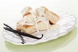 Vanilla dumplings.