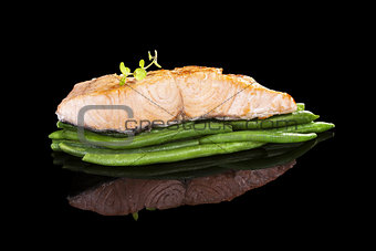 Culinary salmon.