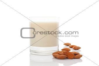 Almond milk.
