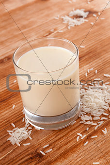 Rice milk.