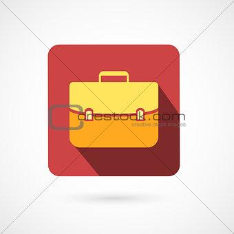 Flat design portfolio icon