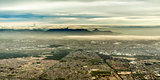 Aerial view of the beautiful city of Cape Town