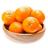 Tasty Sweet Tangerine Orange Mandarin Mandarine Fruit In Wooden