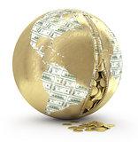 Zipper Earth and money
