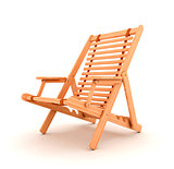 Beach chair 3d