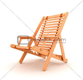 Beach chair 3d