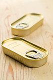 tin can of sardines