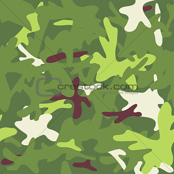 Camouflage military background. Seamless pattern.