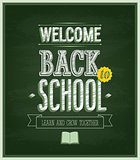 Back to school - Chalkboard.