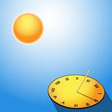 Sun and sundial