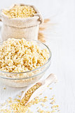 Bulgur background