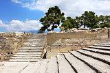 Ancient Phaistos Minoan palace site