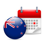 Icon of National Day in New Zealand